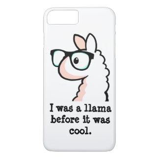 Coque iPhone 7 Plus Lama de hippie