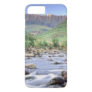 Coque iPhone 7 Plus L'amphithéâtre et la rivière de Tugela en