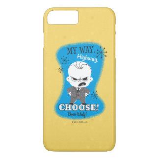 Coque iPhone 7 Plus Le bébé de patron | ma manière. Route