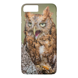 Coque iPhone 7 Plus Le comté de Kendall, le Texas. Cri strident-Hibou