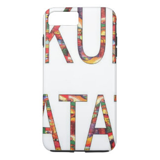 Coque iPhone 7 Plus Le cru africain colore Hakuna Matata