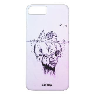 Coque iPhone 7 Plus Le @Just de Skullberg pensent