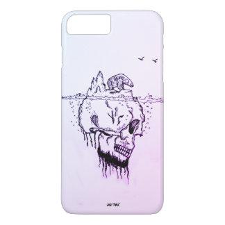 Coque iPhone 7 Plus Le @skull d'ondelette, @Just pensent, le meilleur