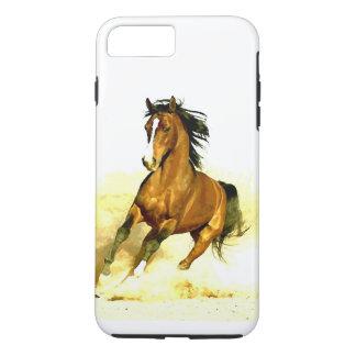 Coque iPhone 7 Plus Liberté - cheval fonctionnant