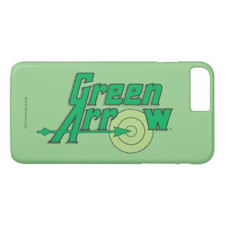 Coque iPhone 7 Plus Logo vert de flèche