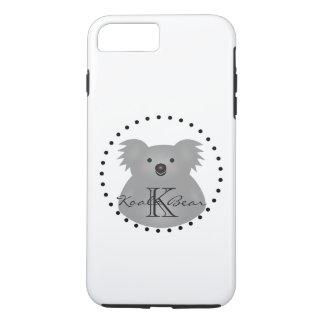 Coque iPhone 7 Plus L'ours de koala australien mignon ajoutent votre
