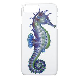 Coque iPhone 7 Plus Magie bleue d'hippocampe