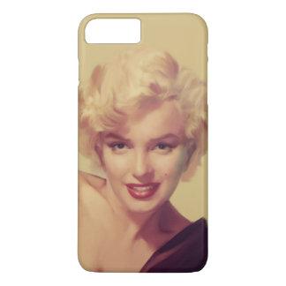 Coque iPhone 7 Plus Marilyn dans le noir