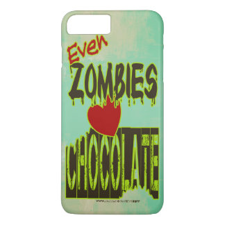 Coque iPhone 7 Plus Même chocolat d'amour de zombis pour tous les