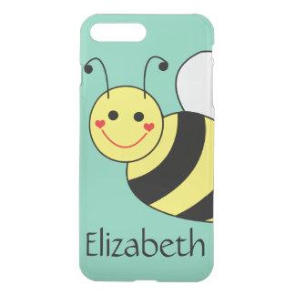 Coque iPhone 7 Plus Mignon gaffez l'abeille personnalisée