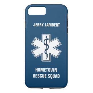 Coque iPhone 7 Plus Modèle nommé de l'infirmier EMT SME