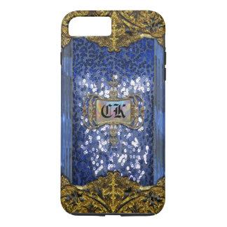 Coque iPhone 7 Plus Monogramme élégant de Gleemshore Saph plus