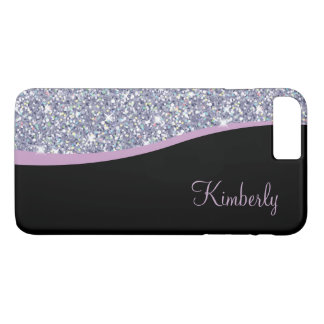 Coque iPhone 7 Plus Monogramme Girly Bling