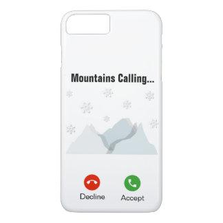 Coque iPhone 7 Plus Montagnes appelle… iPhone 7+/8+Cas