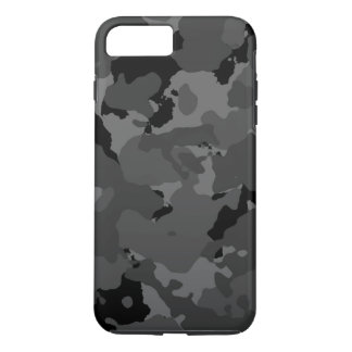 Coque iPhone 7 Plus Motif foncé de Camo