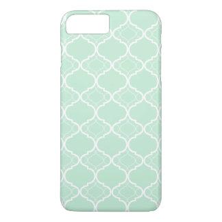 Coque iPhone 7 Plus Motif géométrique vert en bon état de Quatrefoil