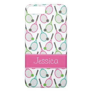 Coque iPhone 7 Plus Motif turquoise vert rose de très bon goût de