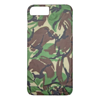 Coque iPhone 7 Plus Motif vintage de camouflage