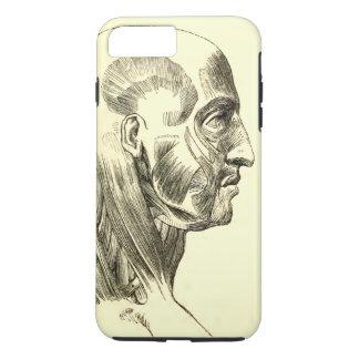 Coque iPhone 7 Plus Muscles vintages de l'anatomie | du principal