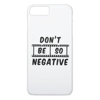 Coque iPhone 7 Plus Ne soyez pas cas plus de l'iPhone 7 tellement