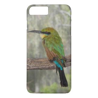 Coque iPhone 7 Plus Oiseau d'abeille-mangeur d'arc-en-ciel, Australie