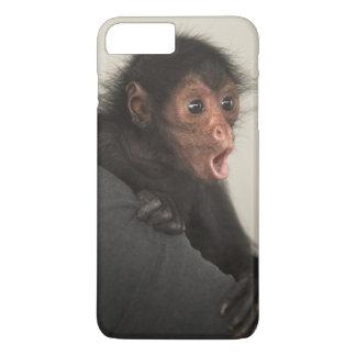 Coque iPhone 7 Plus Paniscus rougeaud d'Ateles de singe d'araignée)