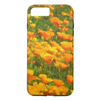 Coque iPhone 7 Plus Pavot de Californie