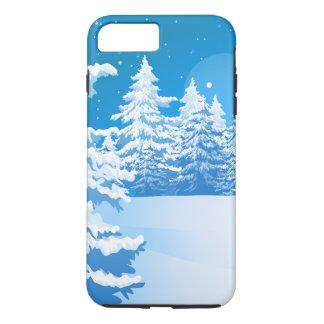 Coque iPhone 7 Plus Paysage d'hiver