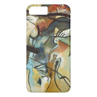 Coque iPhone 7 Plus Peinture abstraite de la composition V en