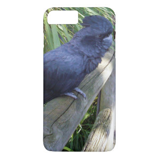 Coque iPhone 7 Plus Perroquet noir australien,