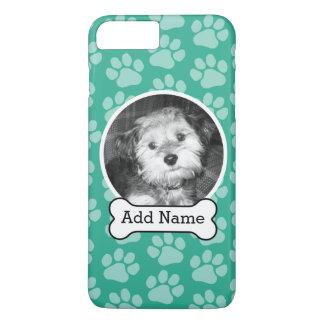 Coque iPhone 7 Plus Photo d'animal familier avec le vert d'os et