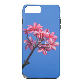 Coque iPhone 7 Plus Plumeria hawaïen