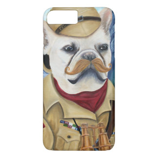 Coque iPhone 7 Plus Porkchop l'explorateur britannique