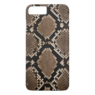 Coque iPhone 7 Plus Poster de animal réaliste de peau de serpent de