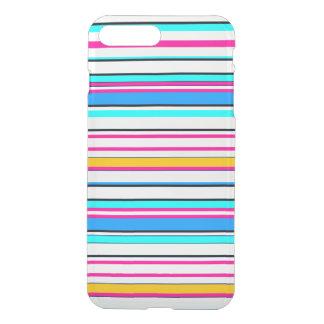 Coque iPhone 7 Plus Rayures roses de Pin