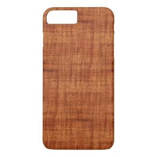 Coque iPhone 7 Plus Regard du bois de grain d'acacia bouclé