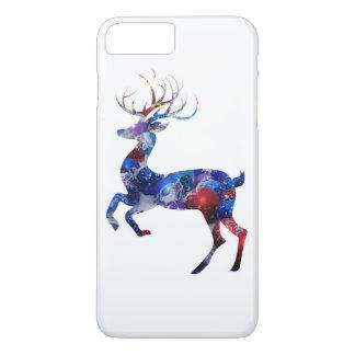 Coque iPhone 7 Plus Renne de Noël