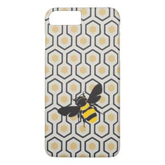 Coque iPhone 7 Plus Rétro ruche de motif de nid d'abeilles