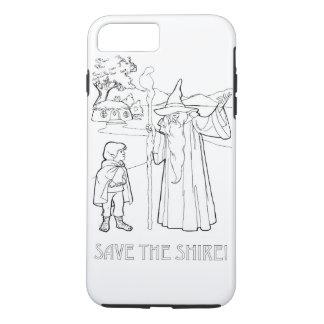 Coque iPhone 7 Plus Sauvez Shire (TM)
