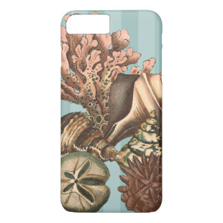 Coque iPhone 7 Plus Silhouette de vie marine