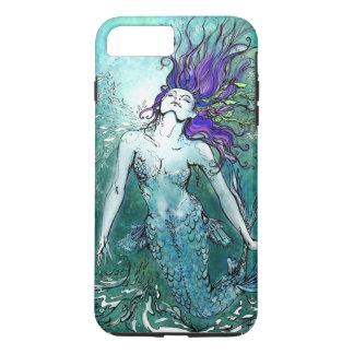 Coque iPhone 7 Plus Sirène joyeuse d'éclaboussure