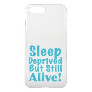 Coque iPhone 7 Plus Sommeil déshérité mais encore vivant dans le bleu