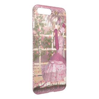 Coque iPhone 7 Plus Souffle d'art rose d'imaginaire