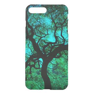 Coque iPhone 7 Plus Sous l'arbre en turquoise