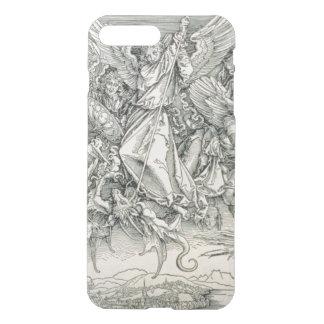 Coque iPhone 7 Plus St Michael luttant avec le dragon