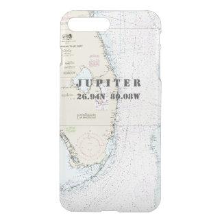 Coque iPhone 7 Plus Sud nautiques la Floride de longitude de latitude