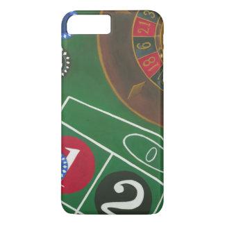 Coque iPhone 7 Plus Tableau de roulette avec les puces et la roue