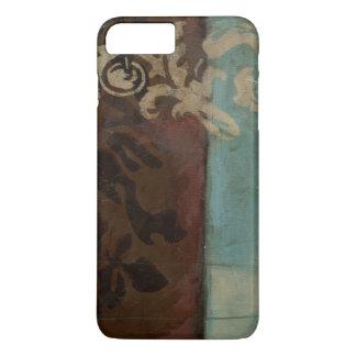 Coque iPhone 7 Plus Tapisserie abstraite de damassé par Jennifer