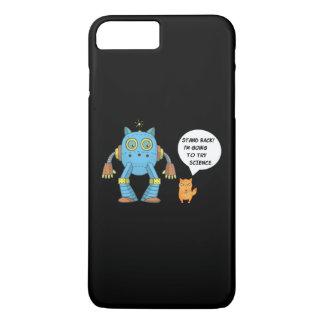 Coque iPhone 7 Plus Tenez-vous retournant pour essayer le chat drôle