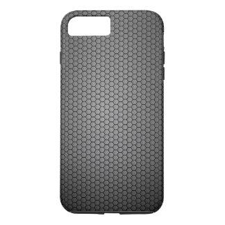 Coque iPhone 7 Plus Texture de fibre de carbone de nid d'abeilles